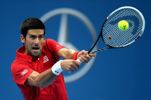 Djokovic at Beijing