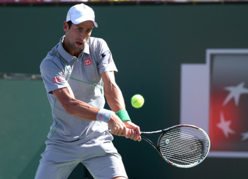 Djokovic at IW 2014