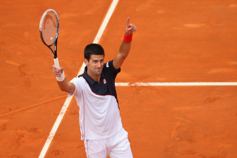 Djokovic at Rome