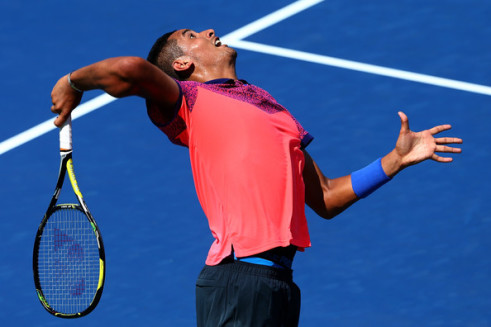 Kyrgios at U.S. Open