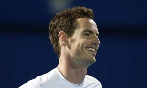 Andy Murray at IPTL
